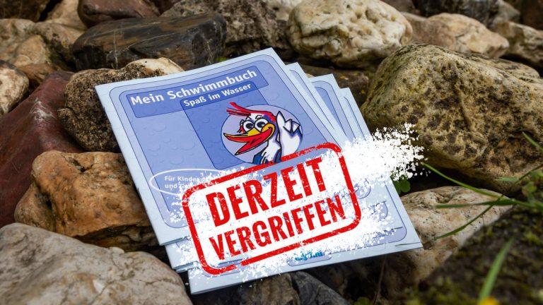 """""""Mein Schwimmbuch"""" aktuell vergriffen"""